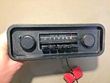 1970 71 72 Volkswagen AM Radio Part# 2VW1116 used original Dash Bezel Knobs VW