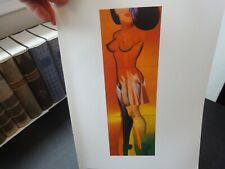 """ALLEN JONES 1995 Pop ART Book Plate PRINT """"Perfect Match"""" (1967) Fab!"""