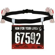Sports Triathlon Marathon Running Race Number Waist Belt Energy Holder C