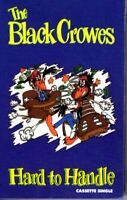 The Black Crowes Hard To Handle 1990 Hard Classic Rock Roll Cassette Tape Single