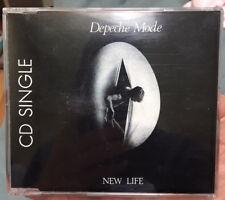 DEPECHE MODE - NEW LIFE - CD SINGLE FRENCH FRANCE 30305 PM 515 - 3 TRACKS