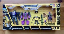 Transformers Buzzworthy Bumblebee War For Cybertron WORLDS COLLIDE 4Pack In-Hand