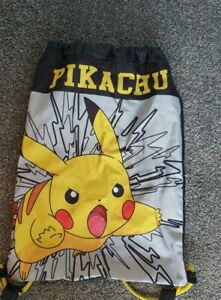 Excellent Condition Pikachu Swimming Bag