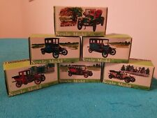 Set of 6 T.N Made in Japan Classic Car Series #423-428   with Boxes Complete NOS