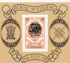 Royalty Sheet Grenadian Stamps (1974-Now)