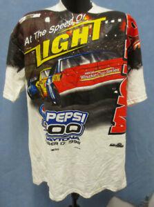 PEPSI 400 2XL SHIRT NASCAR MENS VINTAGE RETRO VTG DAYTONA WINSTON CHASE RACING