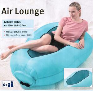 Air Lounge Luftsofa Liegesack aufblasbar Sessel