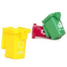 Trash Can Toy Garbage Trucks Trash Bin Mini Curbside Trashcan For Kid Game Prop