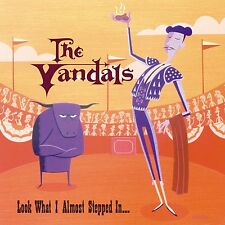 The Vandals LOOK WHAT I ALMOST STEPPED IN Nitro Records NEW COLORED VINYL LP