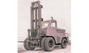 Gelände- Gabelstapler 4045 Modell Bausatz in H0