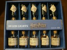 Harry Potter Potion Bottle Lights Ten Led Lights RARE Official Merchandise