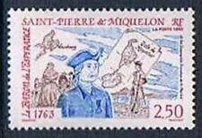 Saint pierre et miquelon 1992 Yv N°570 Mnh**  Baron de l'Esperance and the Free