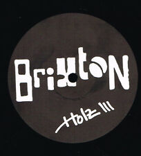 "Maxi 12"" 30cms: Brixton: holz III. not on label. E"