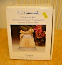M.I. Hummel Goebel Festival Harmony (Mandolin) 1994 Christmas Bell - New In Box