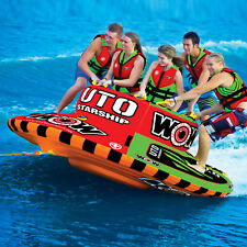 WOW Watersports UTO Starship 5 Rider Inflatable Water Tube Boat Towable 15-1110