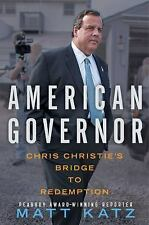 American Governor: Chris Christie's Bridge to Redemption-ExLibrary