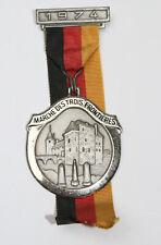 Médaille de marche_013_1974, marche des trois frontières, ruban allemand