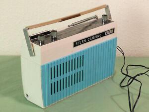 Kofferradio Stern Camping (1), gebraucht, DDR Vintage, SternRadio Berlin