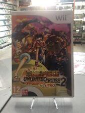 One Piece Unlimited Cruise 2 Awakening Of A Hero Wii USATO GARANTITO