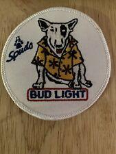 Spuds Mackenzie Vintage 80's Patch, Bud Light, Marketing, 1980's