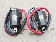 Suzuki T250 T305 TC305 T350 T500 GT185 GT250 Ignition Coil (12 volt) 1 pair New