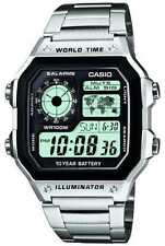 Relojes de pulsera Casio acero inoxidable cronógrafo