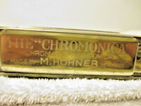 Antique The Chromonica Harmonica Made by M. Hohner in Germany