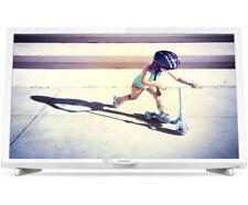 Weiße Flachbildschirm-Fernseher mit 720p max. Auflösung
