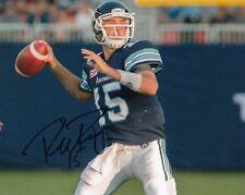 Ricky Ray Toronto Argonauts Autographed Signed CFL 8x10 Photograph w/COA