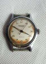 Vintage Rodania 17 Jewels Mens Mechanical Watch Working