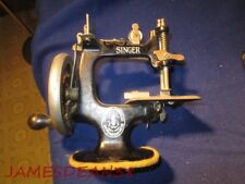 SINGER MODEL # 20 TOY CHILDS SEWING MACHINE CAST IRON
