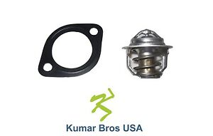 New Kubota M4050 M4050DT M4500 Thermostat & Gasket 160°F