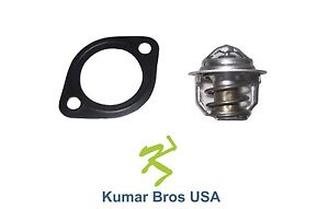 New Kubota L305 L355 L295DT L295F L2550DT L2550F Thermostat & Gasket 160°F