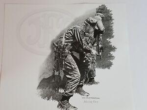 Dick Kramer Print Law Enforcement Military MOVING EASY for FN Herstal 2001