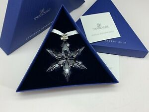Swarovski Figurine 5099840 Christmas Star 2015 Ornament 7,4 Cm. New
