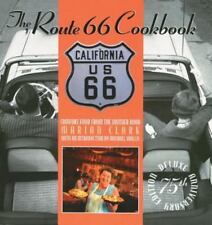 ROUTE 66 COOKBOOK - MARIAN CLARK - HARDBACK WITH DUST JACKET - 2000