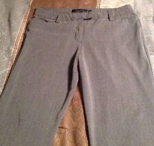 "Gloria Vanderbilt Women's Size 14 Gray ""the perfect fit"" Dress Pants"