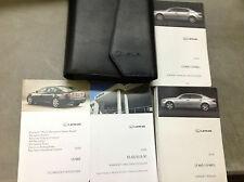 2008 LEXUS LS460 LS460L Owners Manual FACTORY DEALERSHIP GLOVE BOX GUIDE SET x