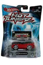 2002 Hot Wheels Hot Tunerz 2002 Chevrolet S10 black-red