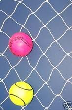 """60' X 10' Baseball Softball Barrier Backstop Nylon Netting 2""""-160 Lb Test"""
