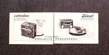 L799- Advertising Pubblicità - 1960 - CERTOSINO LE FRIZZANTI POLVERI PER ACQUA