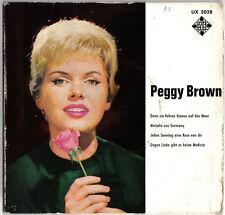 SELTEN ! PEGGY BROWN / TELEFUNKEN UX 5028