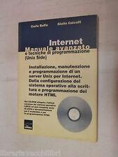 INTERNET Manuale avanzato e tecniche di programmazione C Baffa G Calculli Logica