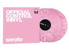 "Serato DJ Pro 12"" Official Control Vinyl - Pink Marble Pair (Unique Pressing)"