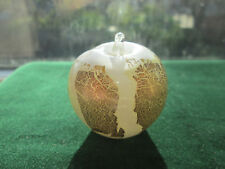 Beautiful Isle of White Mini Apple Paperweight, Mini Fruits By T Harris