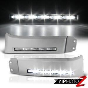 For 07-13 Toyota Tundra/Sequoia LED DRL Fog Running Light Lamp Trim Bezel+Wiring