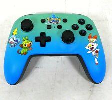 PowerA Enhanced Wireless Controller For Nintendo Switch-Pokemon Sword Blue -Good