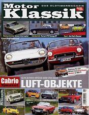 0123MK Motor Klassik 2008 6/08 Jensen Interceptor Fiat 850 Zil 115 Golf 1 BMW Z3