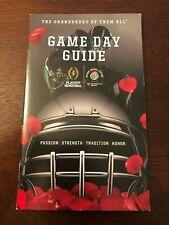 104th 2018 Rose Bowl Game Day Guide Book Oklahoma Sooners Georgia Bulldogs