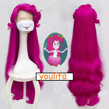 My Little Pony Friendship Is Magic Pinkie Pie Cosplay Rose red Hair Wig